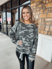 Army Combat Camo Printed Sweater