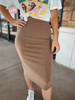 Let's Cuddle Ribbed  Skirt