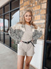 Taupe Lounging In Denver Romper