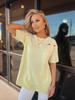 Neon Lime Edgy Vibes Distressed Top