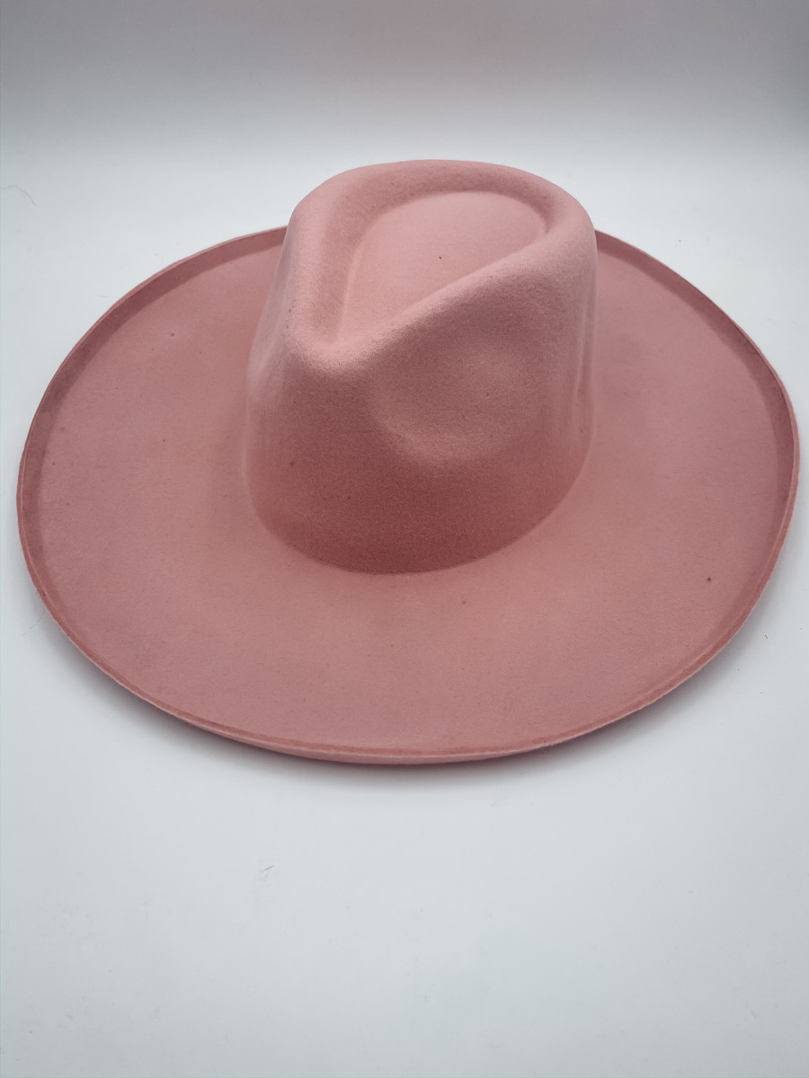 Blush Panama Hat