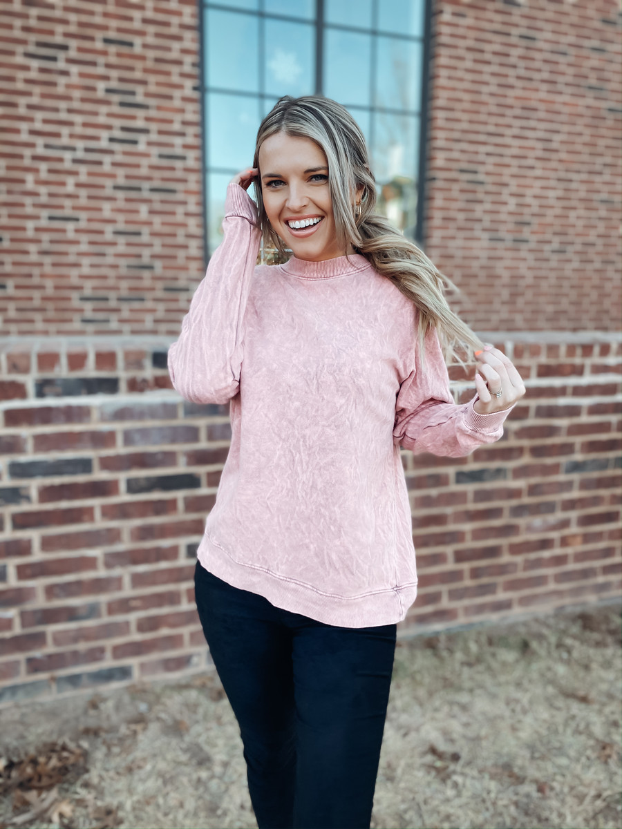 Pink The Marley Sweater