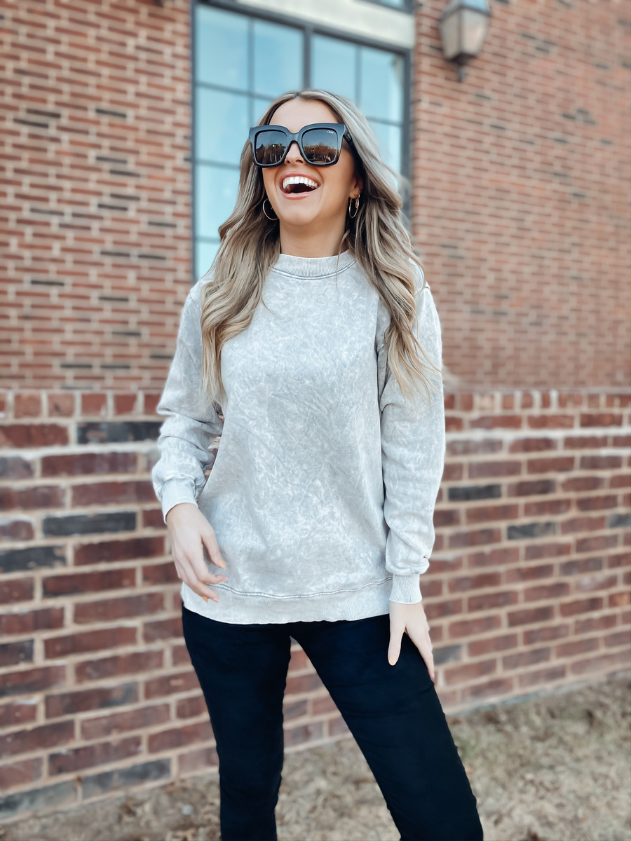 Grey The Marley Sweater
