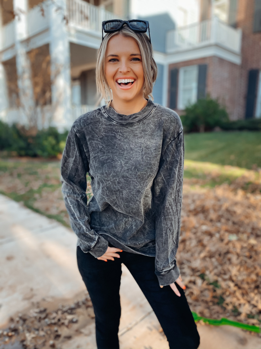 Black The Marley Sweater