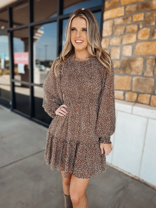 Wild N Out tiered Ruffle Mini Dress