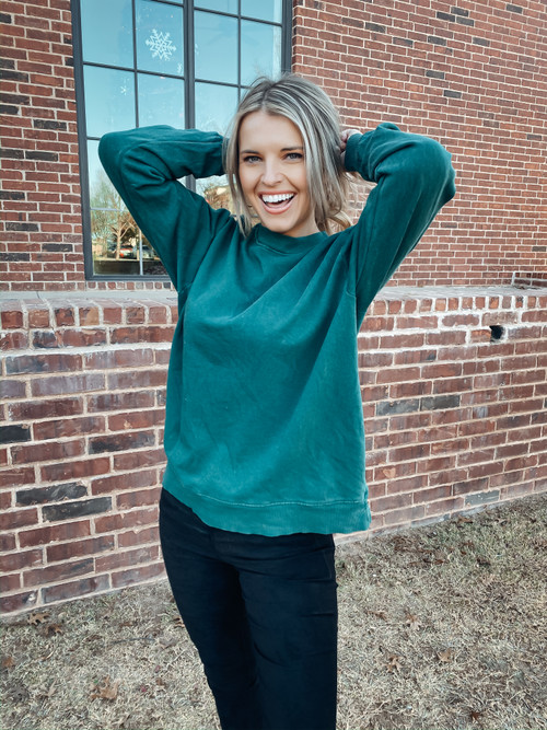 Green The Marley Sweater
