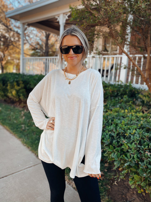 Ivory The Chloe Long Sleeve