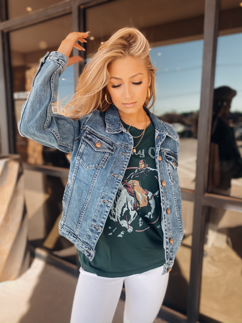 Alissa Cleveland Denim Jacket