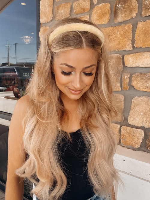 Fuzzy Faux Fur Thin Headband