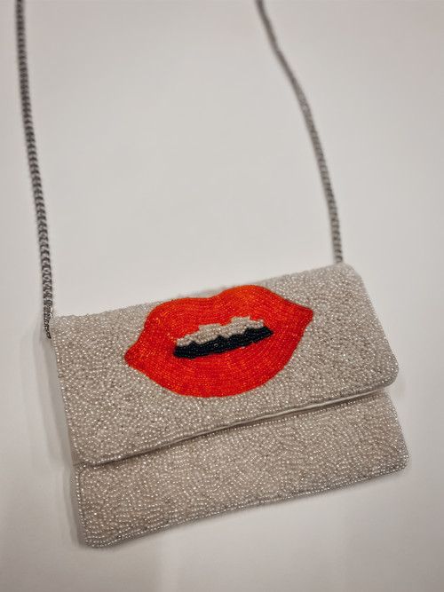 Mini Red Lip Crossbody