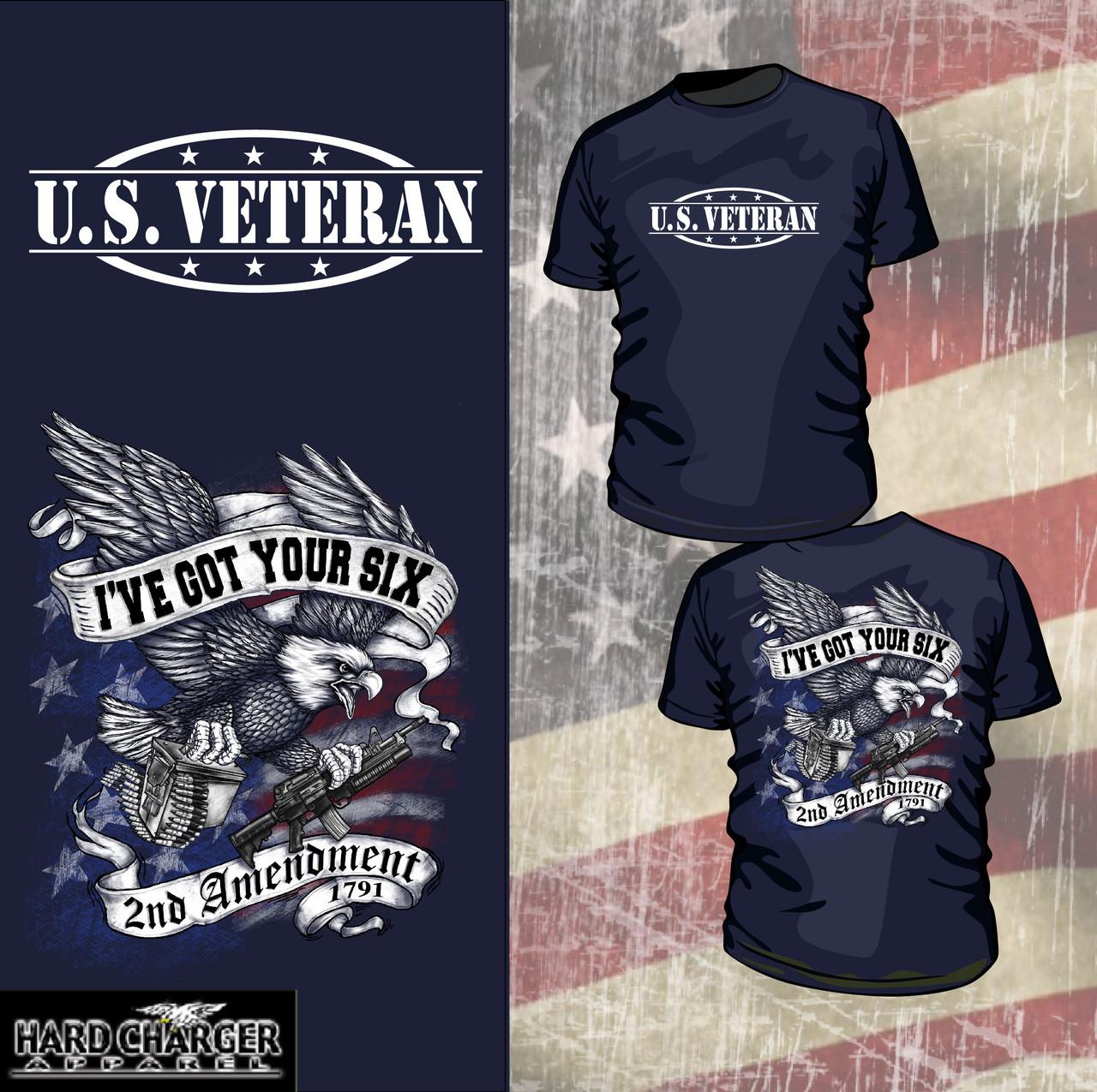 2nd Amendment - U.S. Veteran shirt - Hard Charger Apparel f237bf7f7e2e