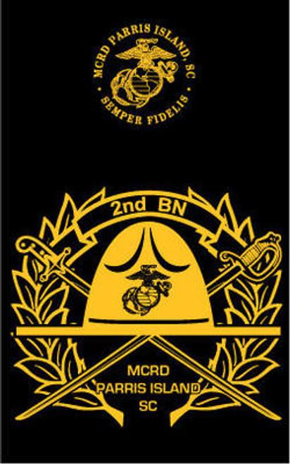 Parris Island 2nd Recruit Battalion Long Sleeve T- Shirt