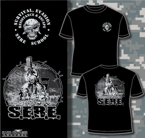 Marine Corps SERE School Long Sleeve T- Shirt