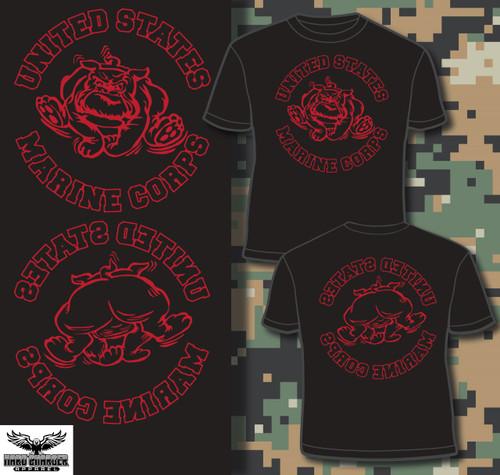 Marine Corps Bulldog Old Corps T-shirt