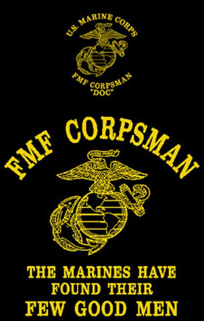 Corpsman Doc Long Sleeve T- Shirt