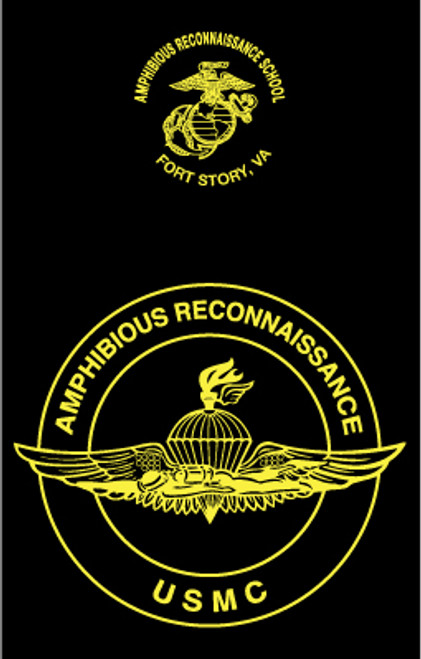 Amphibious Reconnaissance School Long Sleeve T- Shirt