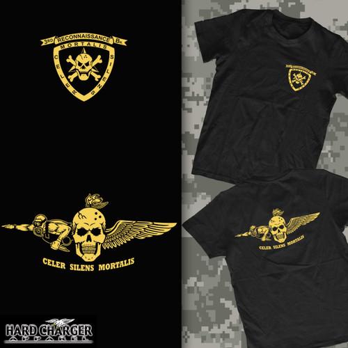 3rd Recon Battalion Long Sleeve T- Shirt