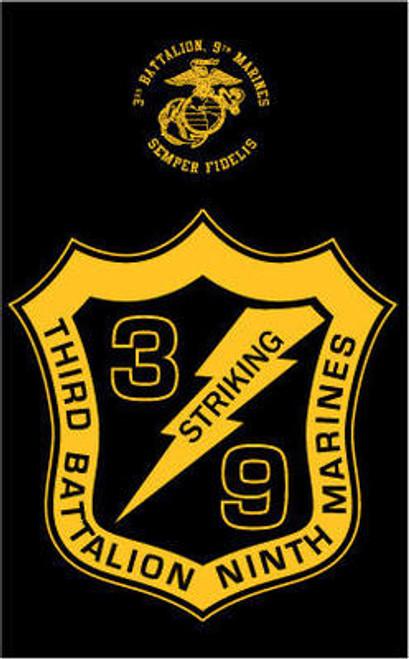 3rd Battalion, 9th Marines Long Sleeve T- Shirt