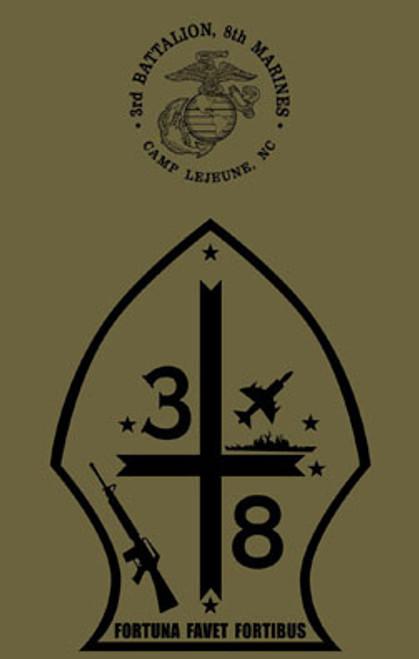 3rd Battalion, 8th Marines T-shirt