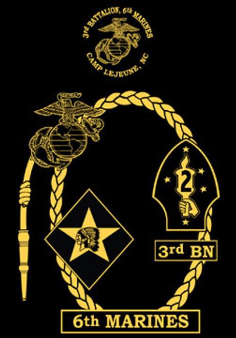 3rd Battalion, 6th Marines Crewneck Sweatshirt