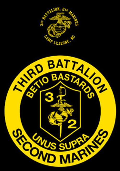 3rd Battalion, 2nd Marines Hood