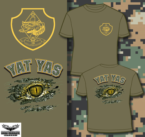 3rd Assault Amphibian Battalion Long Sleeve T- Shirt