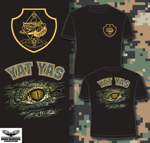 3rd Assault Amphibian Battalion T-shirt