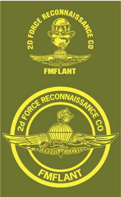 2nd Force Reconnaissance Long Sleeve T- Shirt