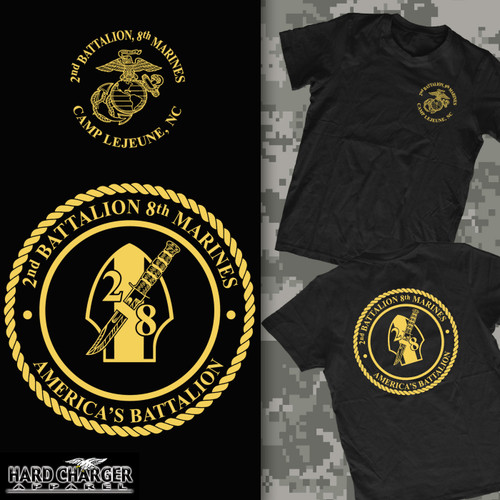2nd Battalion, 8th Marines T-shirt
