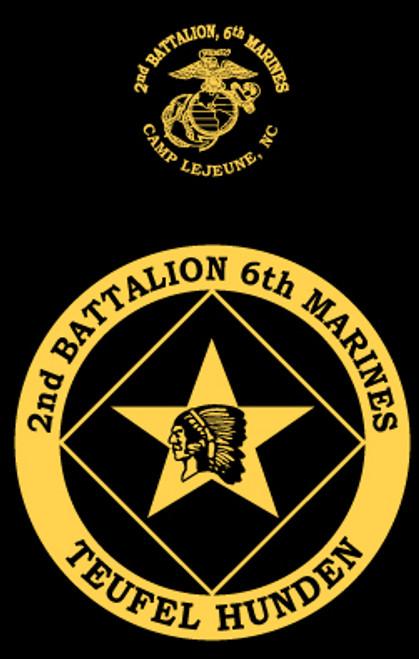 2nd Battalion, 6th Marines T-shirt