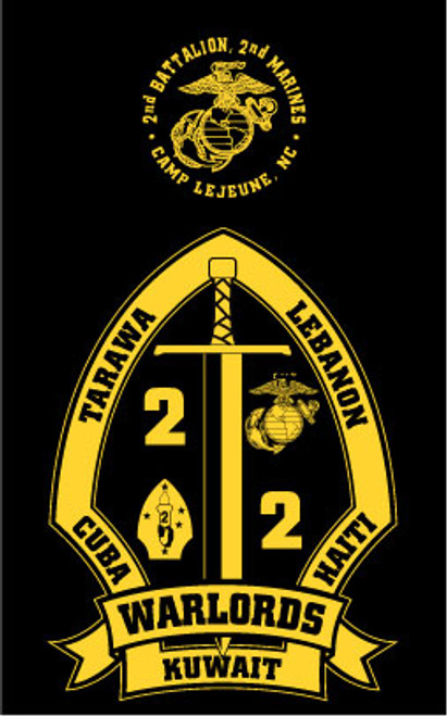 2nd Battalion, 2nd Marines Long Sleeve T- Shirt