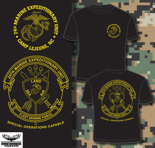 24th Marine Expeditionary Unit (24th MEU) T-shirt