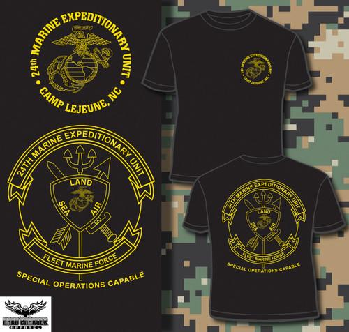 24th Marine Expeditionary Unit (24th MEU) T-shirt