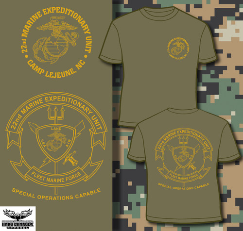 22nd Marine Expeditionary Unit T-shirt