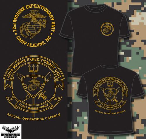 22nd Marine Expeditionary Unit T-shirt