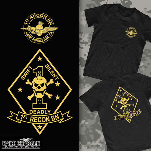 1st Recon Battalion Camp Pendleton T-shirt