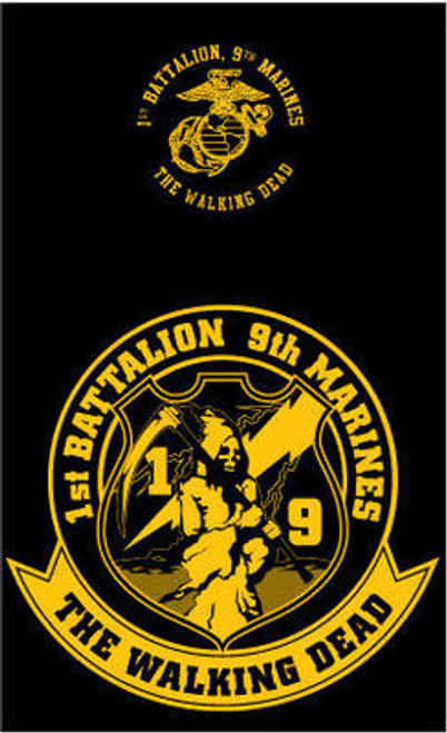 1st Battalion, 9th Marines T-shirt