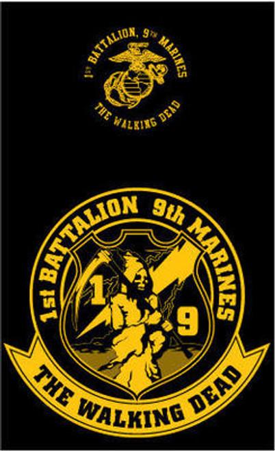 1st Battalion, 9th Marines T-shirt