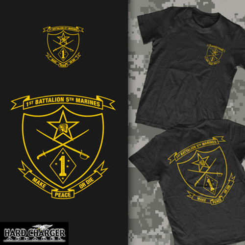 1st Battalion, 5th Marines Long Sleeve T-Shirt