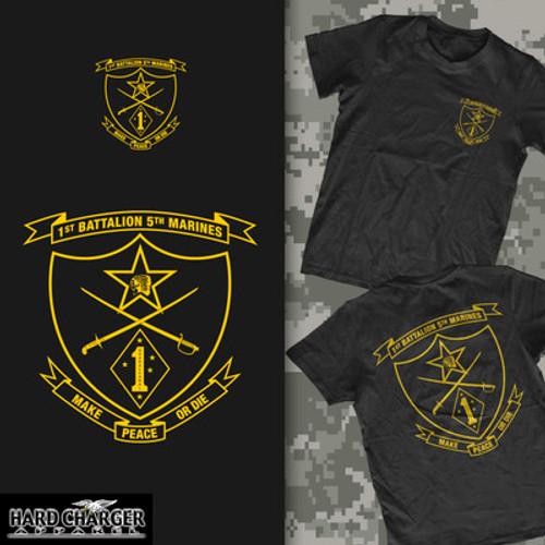 1st Battalion, 5th Marines Long Sleeve T-Shirt