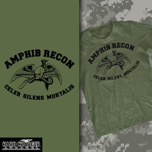 Marine Corps Amphibious Reconnaissance T-shirt