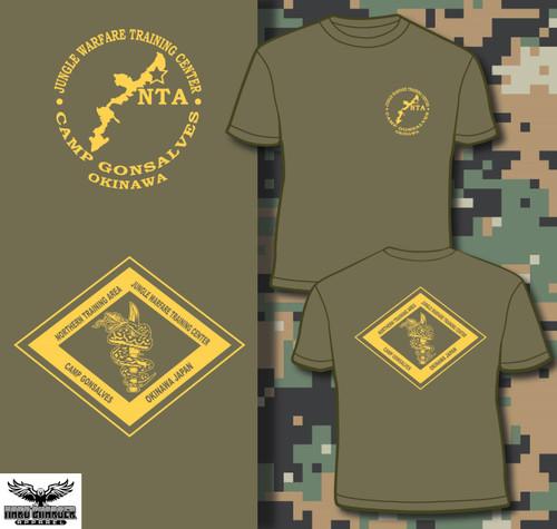 Marine Corps NTA Okinawa Jungle Warfare School T-shirt