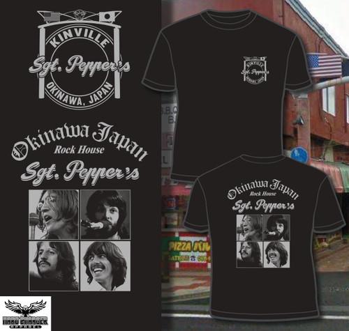Okinawa Japan Sgt Pepper's Rock House Kinville T-shirt