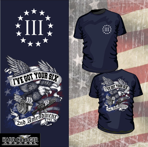 2nd Amendment - Three Percent Shirt