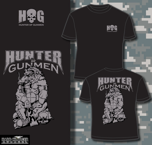 Sniper Hunter of Gunmen HOG T-shirt