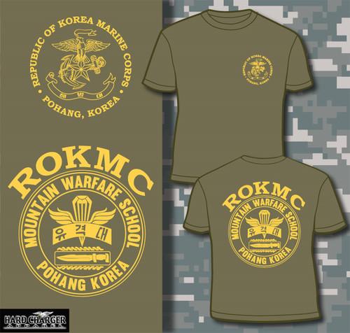 Republic of Korea Marine Corps Mountain Warfare School Long Sleeve T-shirt