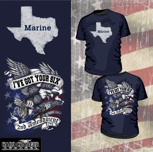 Texas Marine - 2nd Amendment T-shirt