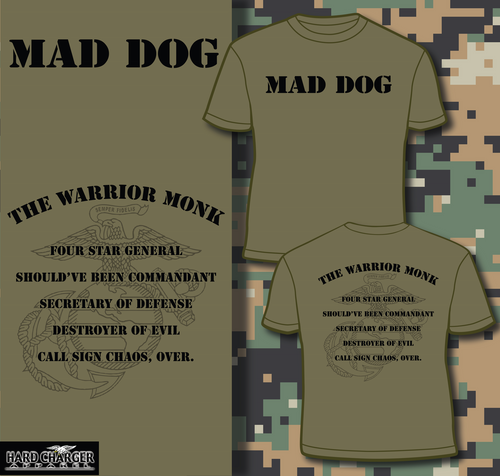 General Mad Dog Mattis T-shirt