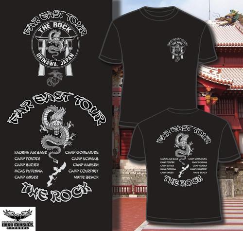 "Far East Tour ""The Rock"" Okinawa T-shirt"