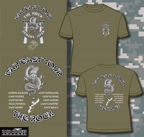 "Far East Tour ""The Rock"" Okinawa Long Sleeve T-shirt"